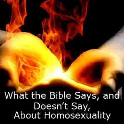 Bible And Homosexuality