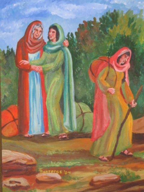 Barreras, Trudie - Ruth and Naomi