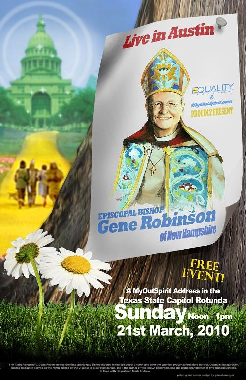 Bishop Robinson Poster