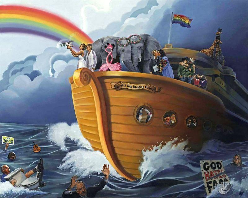 Copy WS of Richmond, Paul, Noah's Gay Wedding Cruise