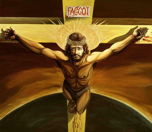 Harrelson, crucifixion medium