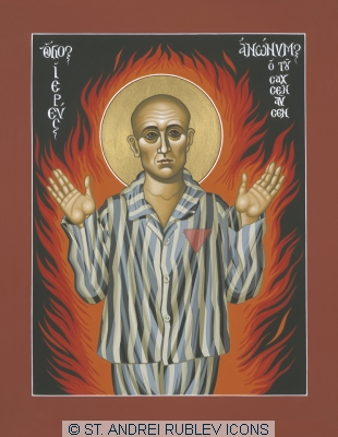 McNichols, Holy_Priest_Anonymous_one_of_Sachsenhausen