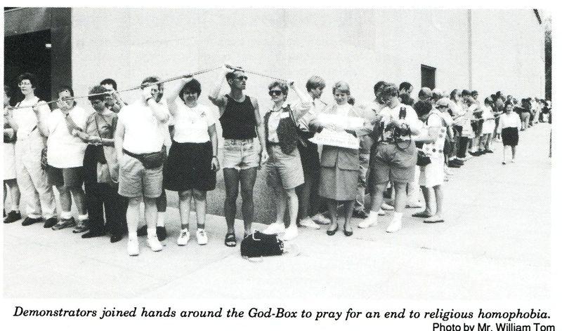 Hands Around the God Box  - 001