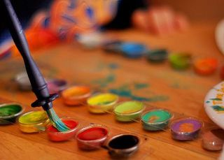 Paint rush_and_watercolours